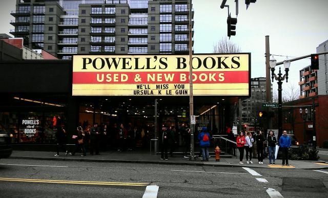 powells ursula marquee